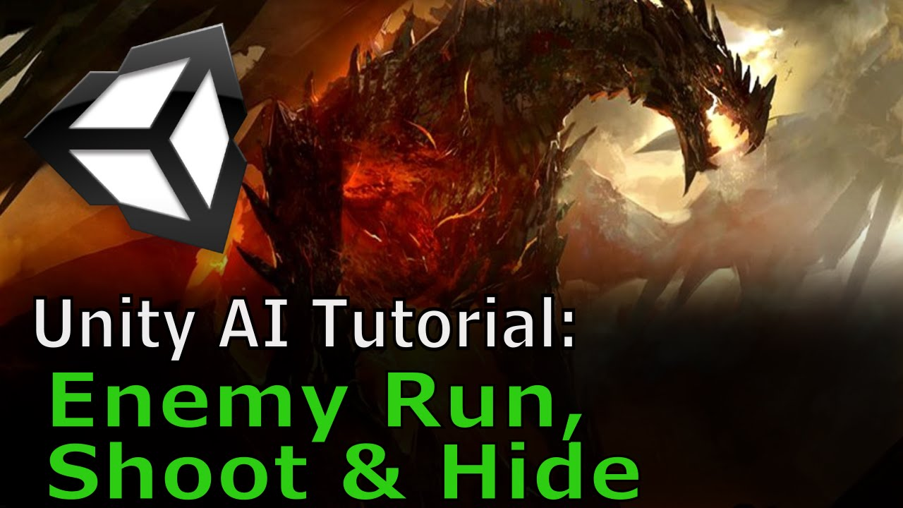 Enemy Shoot, Run and Hide | Unity AI Tutorial - Most Popular Videos