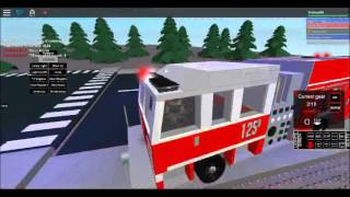 Roblox City Of Toronto Fire Squad Responding and Tour of Station