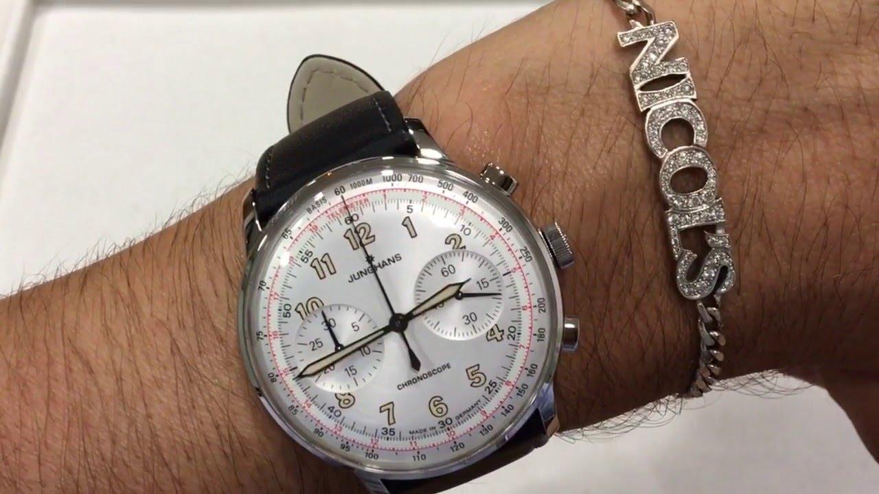 Junghans Meister Telemeter Chronoscope Reloj En Espa 241 Ol
