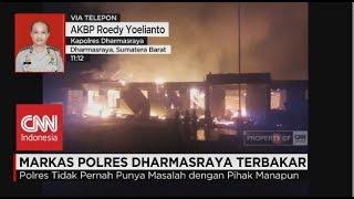 Misteri Terbakarnya Markas Polisi Resor - Polres Dharmasraya , Sumatera Barat