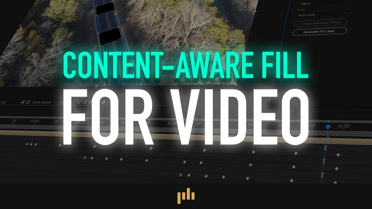 Tutorial: Getting Started with Content-Aware Fill in After