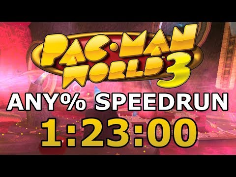 Pac-Man World 3 Any% In 1:23:00 [Commentated WR]