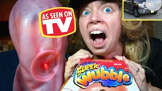SUPER WUBBLE vs TRUCK!- DOES THIS THING REALLY WORK?