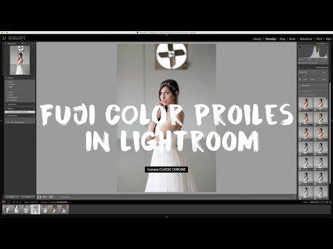 Tip Tuesday: Using Fujifilm Color Profiles in Lightroom