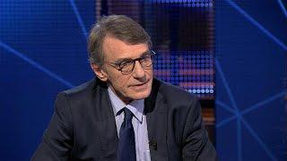 Le président du Parlement européen David Sassoli donne sa vision de l'UE