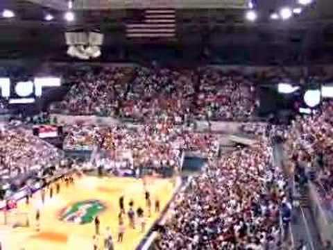 NCAA final four 2007 basket-ball Florida - Ohio - PART 2