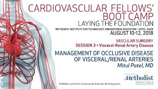 Management of Occlusive Disease of Visceral/Renal Arteries (Mitul Patel, MD)