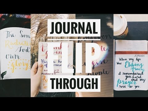 Journal Flip Through // Coffee and Bible Time