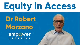 Dr Marzano: Equity in Access