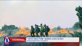 Latest on 'Veyo West Fire' in Washington County