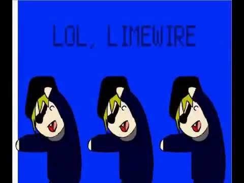 Limewire you are a pirate