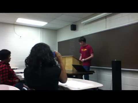 Public speaking rap