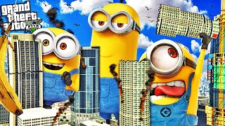The MINIONS take over LOS SANTOS in GTA 5