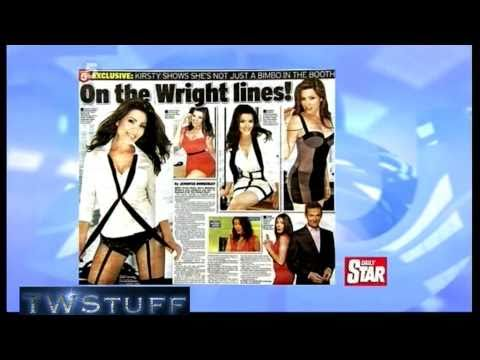 Kirsty strips off for the Daily Star 28.3.11  TWStuff
