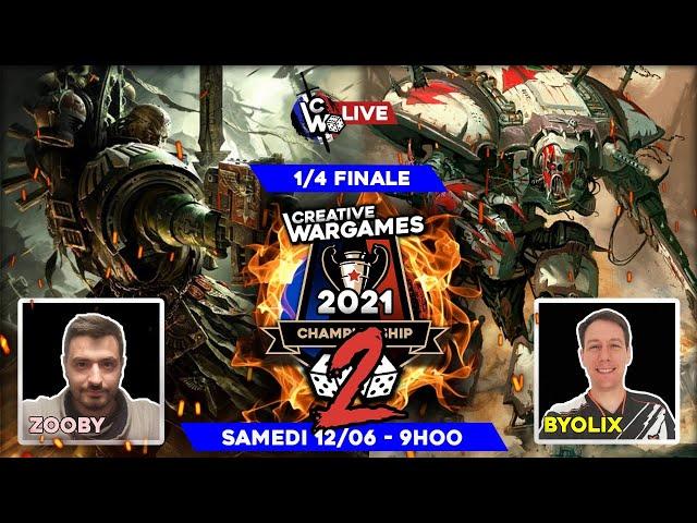 Creative Wargames Championship 2 - 1/4 de finale SMC-TS-RK Vs Dark angels