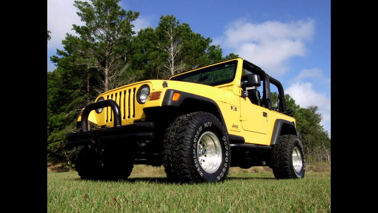 Lifted 2004 Jeep Wrangler X For Sale   YouTube