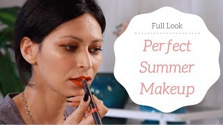 Perfect Summer Makeup | Easy Full Look Tutorial
