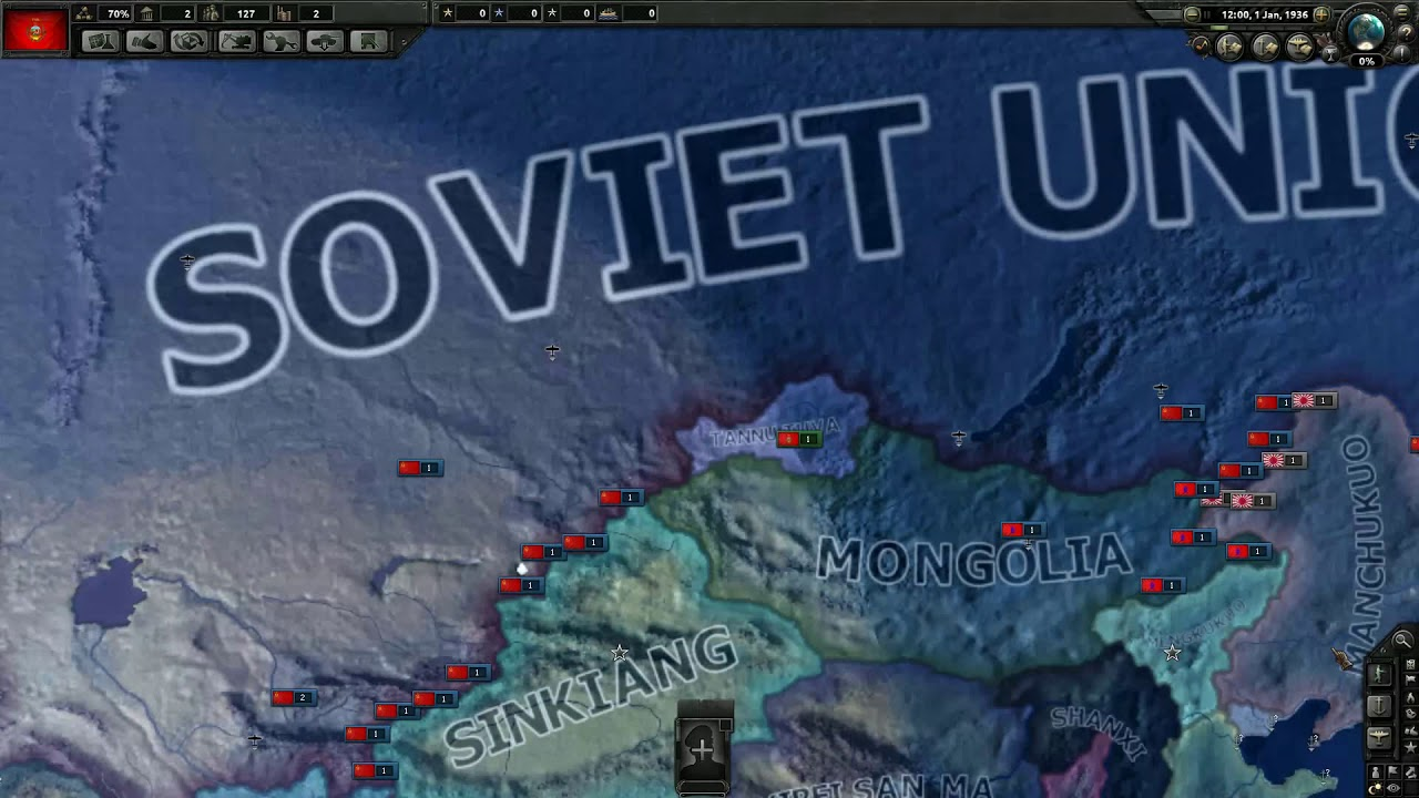 Hoi4 How to annex the soviet union as tana tuva without starting the time