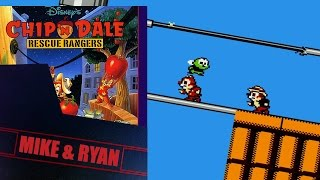 Chip 'n Dale Rescue Rangers (NES) Mike & Ryan