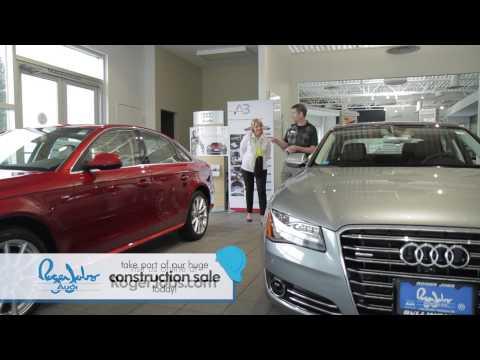 Roger Jobs Audi - Construction Sale 2014