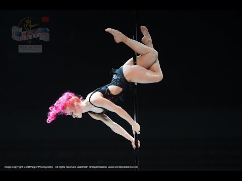 Polina Volchek - RUSSIA - World Pole Dance Championships - Beijing, China