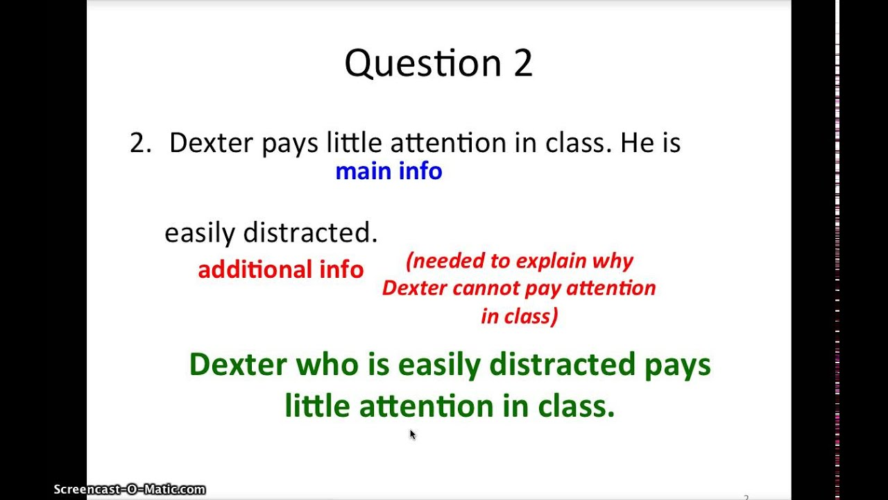Primary 3 Sentence Synthesis Worksheet 6 - YouTube