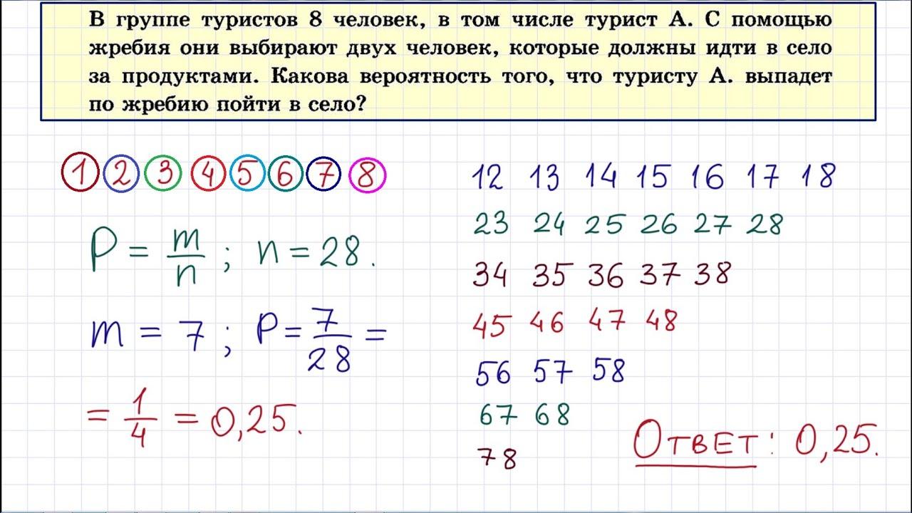 Решение задач егэ математика по теории вероятности онлайн решение задач по статике