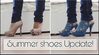 MY SUMMER SHOES UPDATE