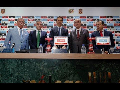 Presentación España-Costa Rica