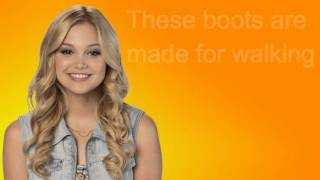 Olivia Holt- These Boots were made for Walkin