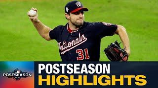 Mad Max Scherzer was an absolute animal in the 2019 Postseason (3 Ws, 37 Ks, 2.40 ERA)
