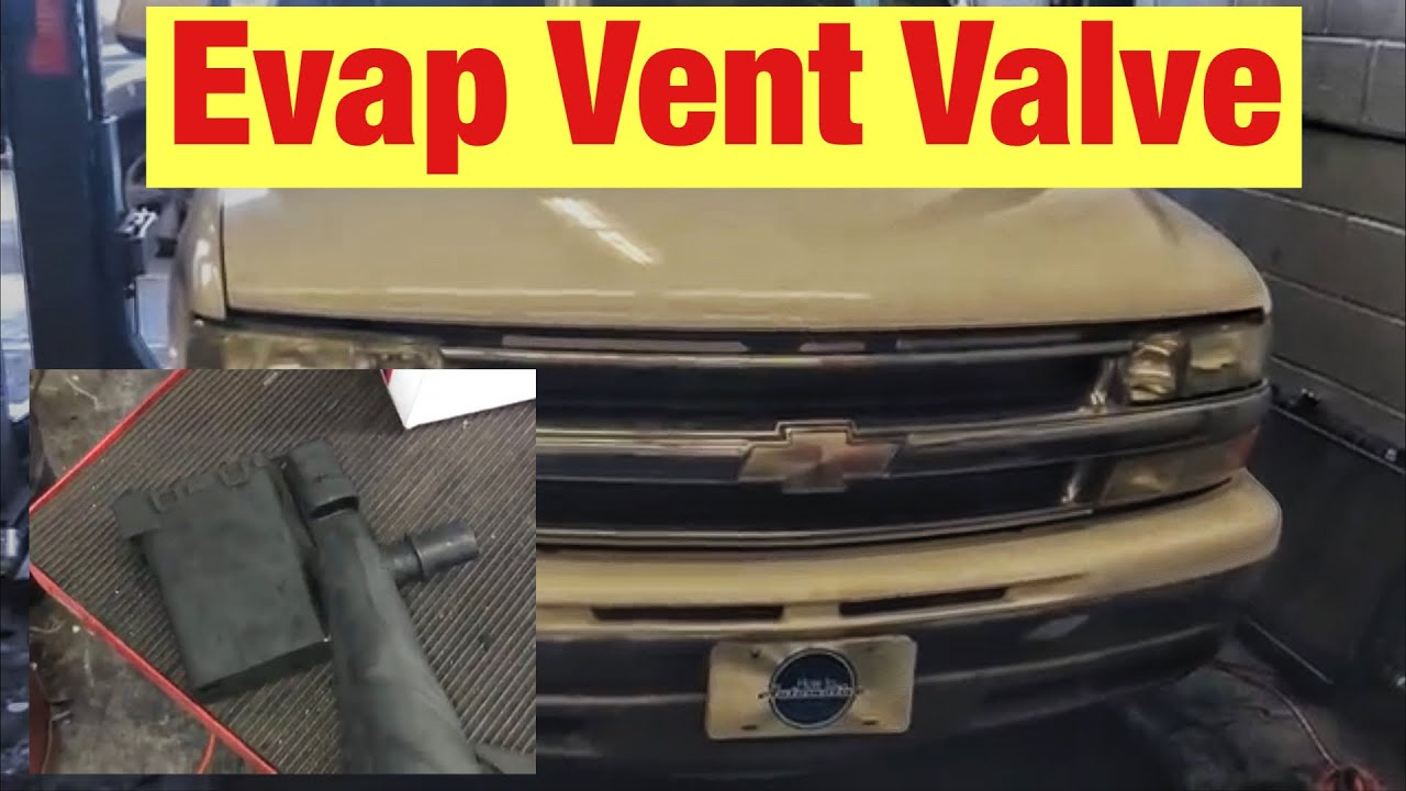 how to replace the evap vent valve on a 2000 2006 chevy tahoe suburban code p0449  [ 1280 x 720 Pixel ]