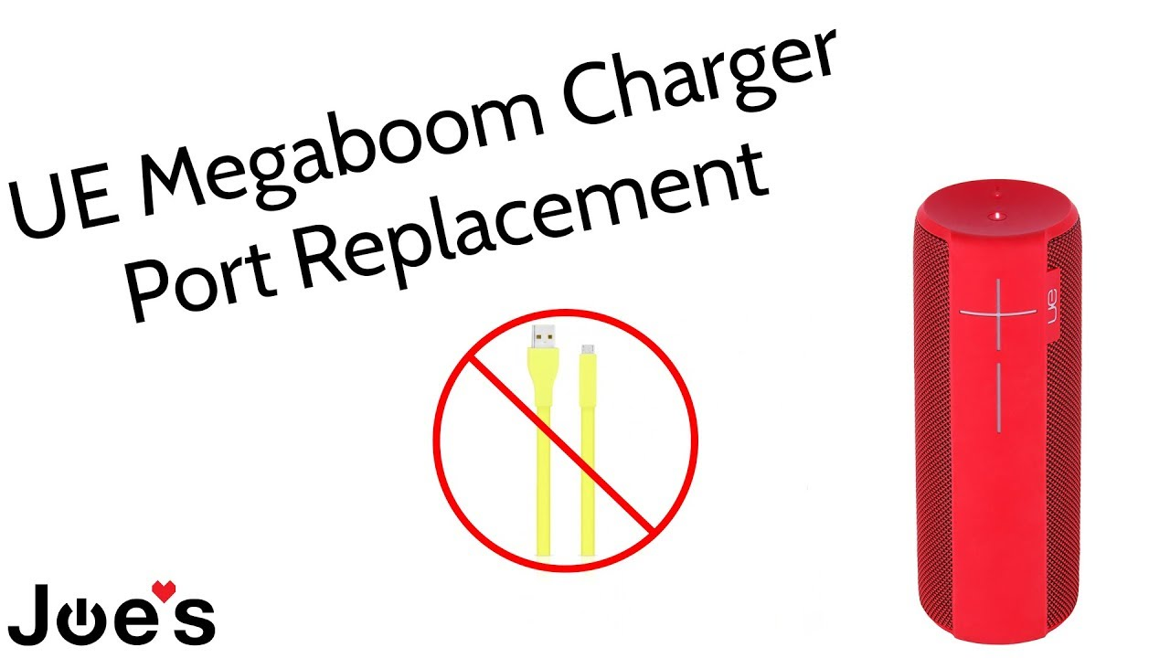 Ultimate Ears UE Megaboom Doesnt Charge Charger Port Replacement