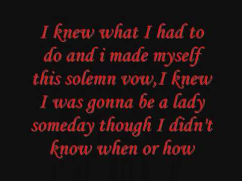 Fancy~Reba McEntire{Lyrics}