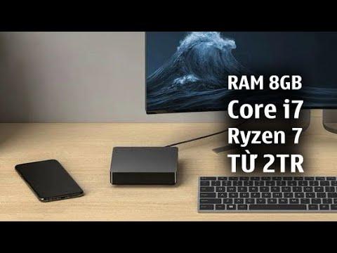 Vài chiếc Mini PC CHƠI GAME Core i7, Ryzen 7 VỎ KÍNH RAM 8GB ~ từ 2tr
