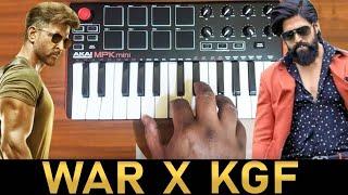 War x Kgf Mass Bgm   Mix By Raj Bharath   #Yash #Hrithik Roshan   Ravi Basrur   Vishal & Shekhar