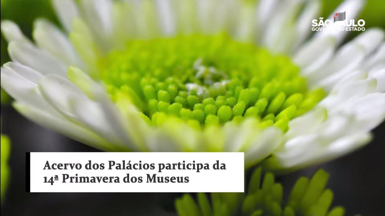 Acervo dos Palácios participa da 14ª Primavera dos Museus