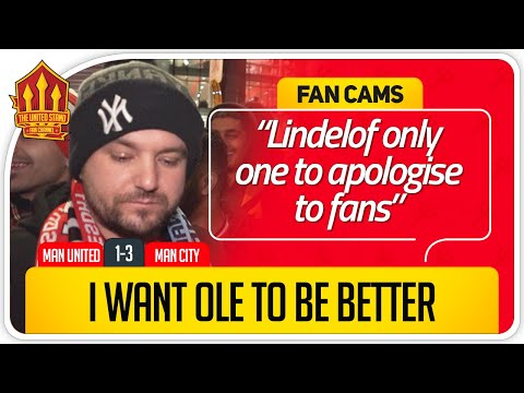 UNITED HAVE NO MIDFIELD! Manchester United 1-3 Manchester City Fan Cam