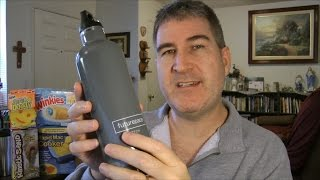 Futurepace Tech Stainless Steel Water Bottle REVIEW