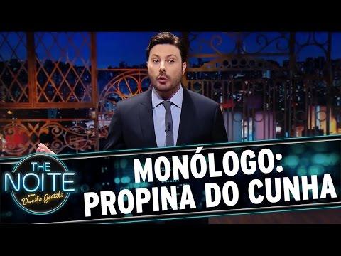 Monólogo: propina do Cunha