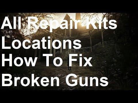 Resident Evil 7 - All Repair Kit Locations