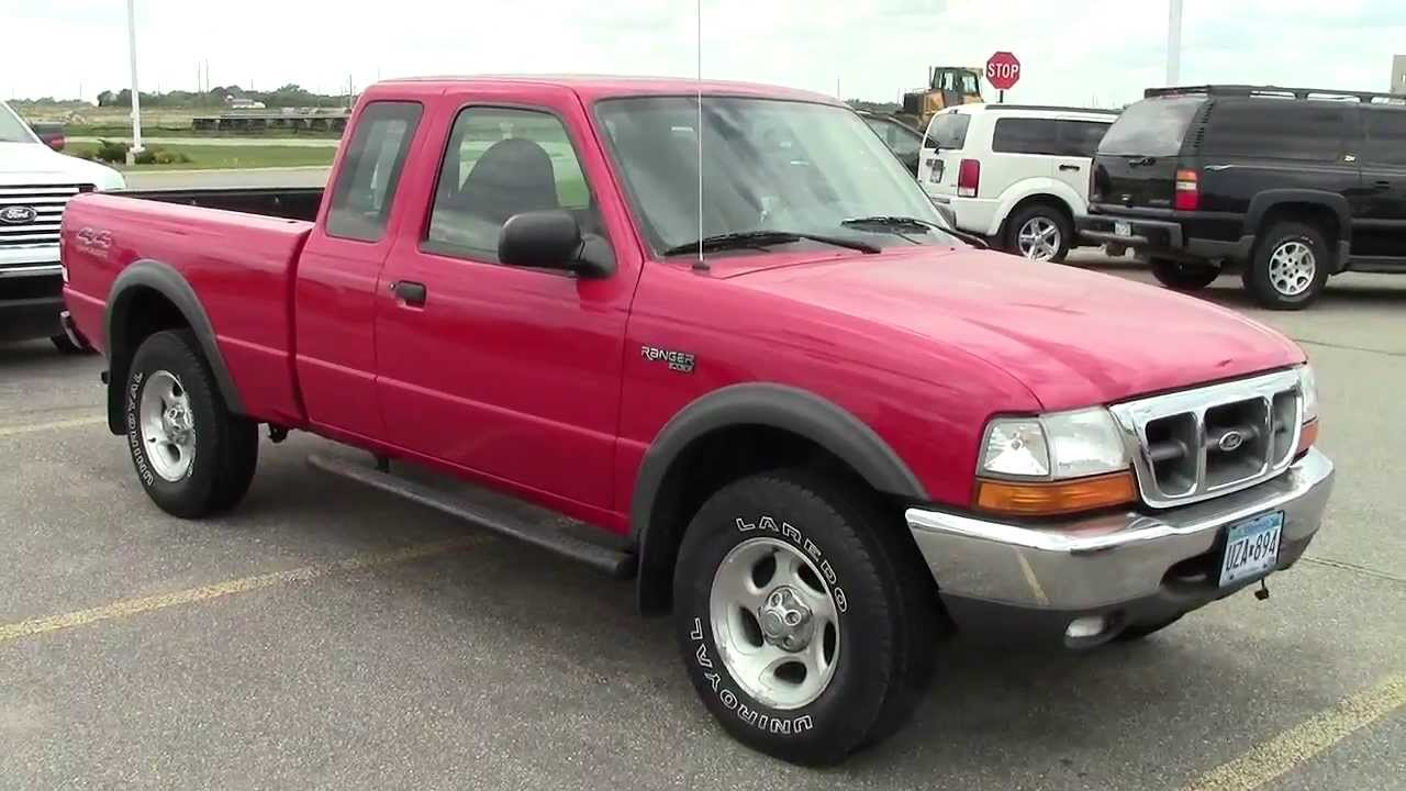 2000 Ford Ranger Supercab Xlt 4wd Youtube