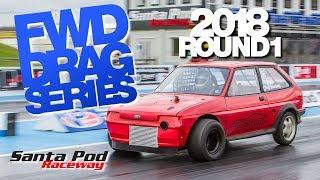 Round 1 2018 FWD Drag Series - All Torque Test Day