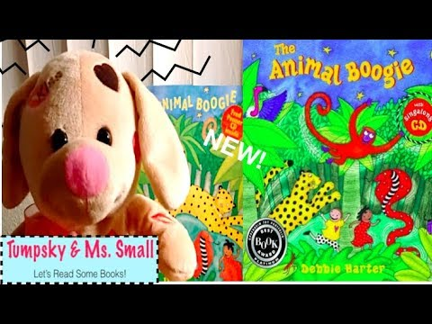 The Animal Boogie by Debbie Harter - Books Read to Kids Aloud!