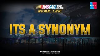 NASCAR Inside Line - Its a Synonym - Funny Nascar Reactions