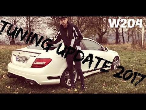 Mercedes Benz C-Klasse Coupe W204 Tuning-Update 2017 | alle Veränderungen im Video