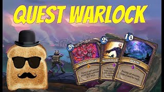 Disguised Toast is trying other discard Quest warlock deck (Journey to Un
