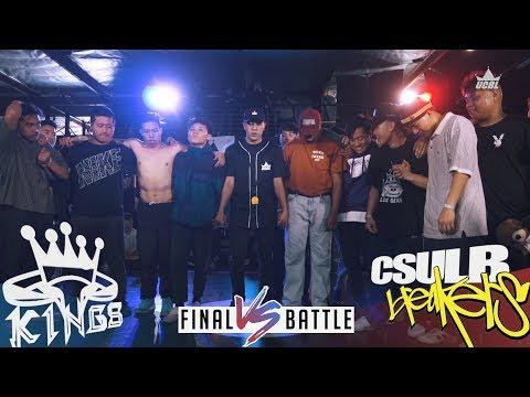 UCBL 2018 Final Battle: King Library Rockers/King of the Hill vs Beach Street