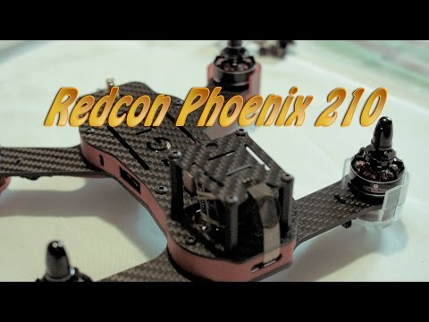 Redcon Phoenix 210 Racing FPV Quadrocopter von gearbest.com Review & Unboxing in deutsch