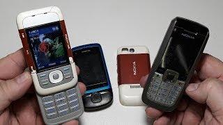 3 Три телефона Nokia за 3$. Ремонт телефона Nokia онлайн. Nokia C2-05. 5300. 2600 Посылка с аукциона